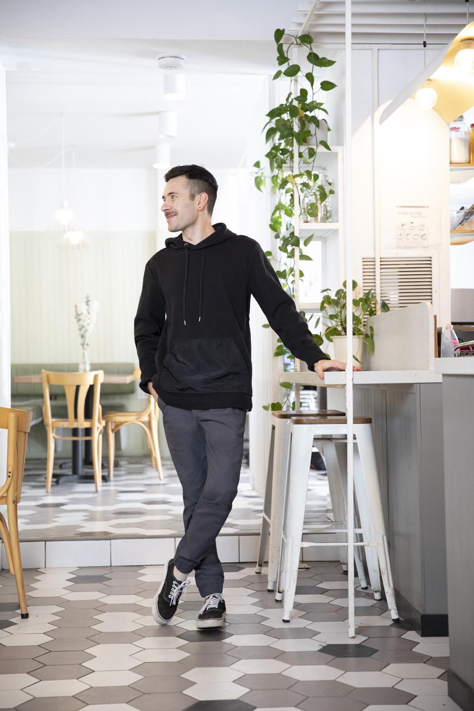 Mathieu Ménard, a lancé Aperitivo, épicerie gourmande d'inspiration italienne.