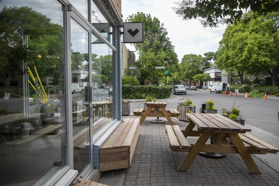 Le café Le brûloir, également situé dans l'effervescente rue Fleury