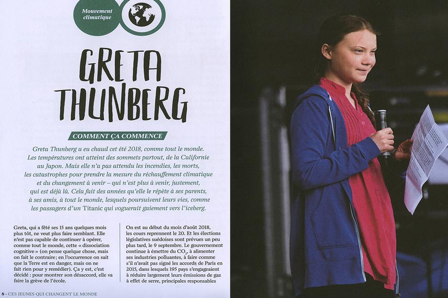 Extrait deCes jeunes qui changent le monde, de Julieta Cánepa et Pierre Ducrozet, éditions De La Martinière Jeunesse
