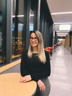 Valérie Faucher, étudiante à l'Université Laval, est lauréate du prix Relève Desjardins 2020.