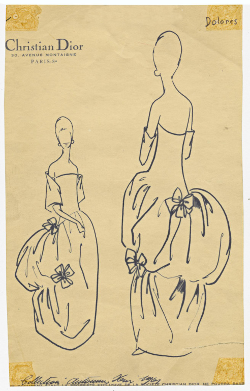 La robe Dolorès, de la collection Automne-hiver1959