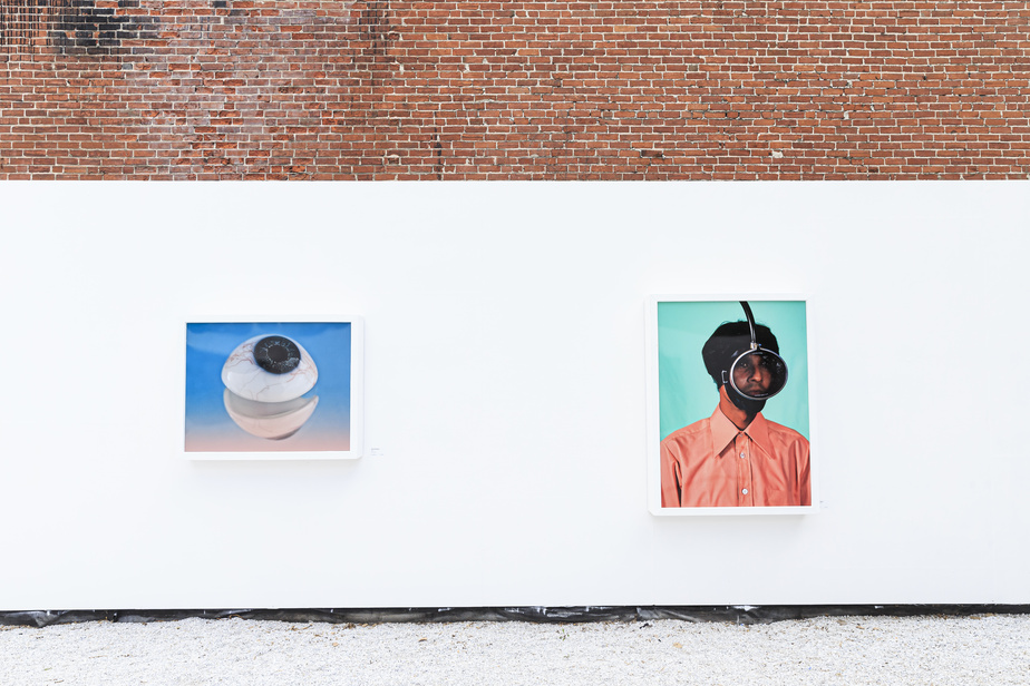 «J'invite les Montréalaises et les Montréalais à venir visiter cette nouvelle proposition artistique qui leur est faite alors que, plus que jamais, nous avons besoin d'un peu d'art dans nos vies», a dit Valérie Plante lors du lancement de l'exposition, mardiaprès-midi.