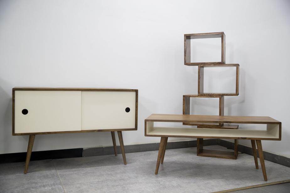 L'entreprise manufacturière Vybe fabrique des meubles mid-century modern aux inspirations scandinaves.