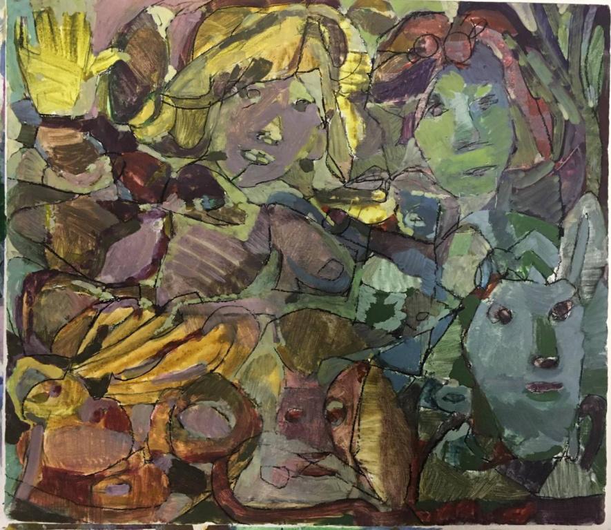 Une œuvre de Jean-Pierre Larocque
