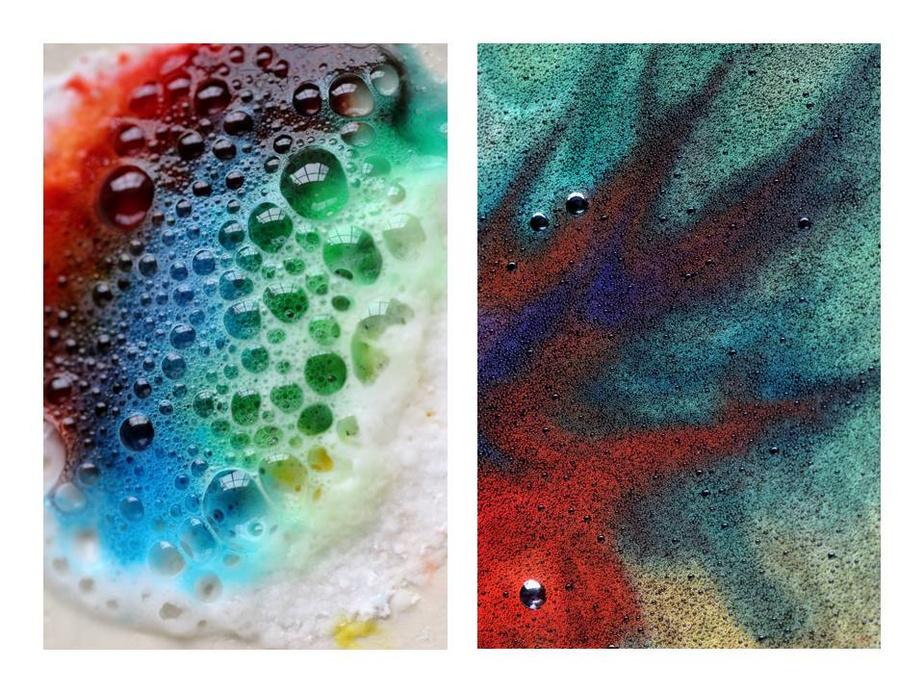L'art chimique, non daté,Maëlys (6 ans) et Eymeric (9 ans) Pontlevoy