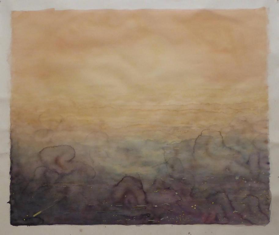 Riverside, 2019, Ripley Whiteside, aquarelle, 108cmx127cm