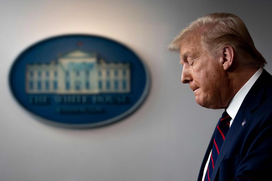 Report de l'élection: l'hypothèse «horrifiante» de Trump