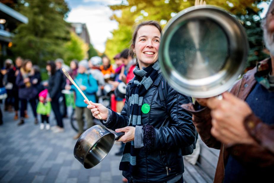 Un «mardi casseroles» pour l'environnement à Montréal