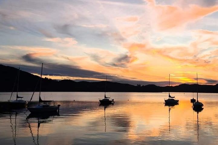 Le poste d'observation préféré de cette lectrice: Sainte-Agathe-des-Monts, où se trouve le lac des Sables.