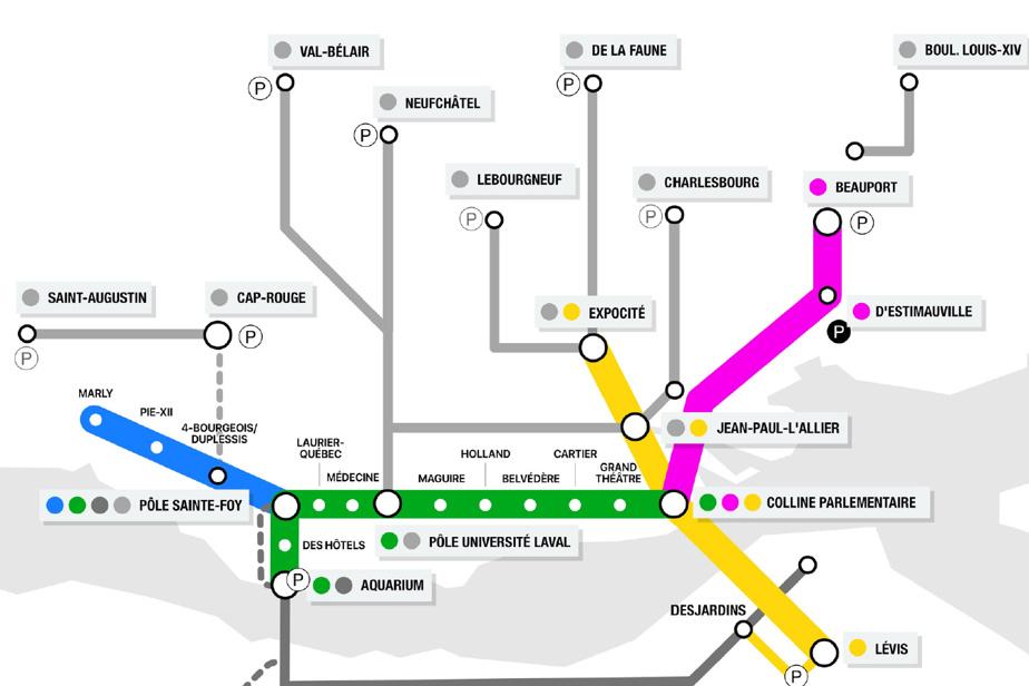 Un métro léger en Haute-Ville de Québec ?