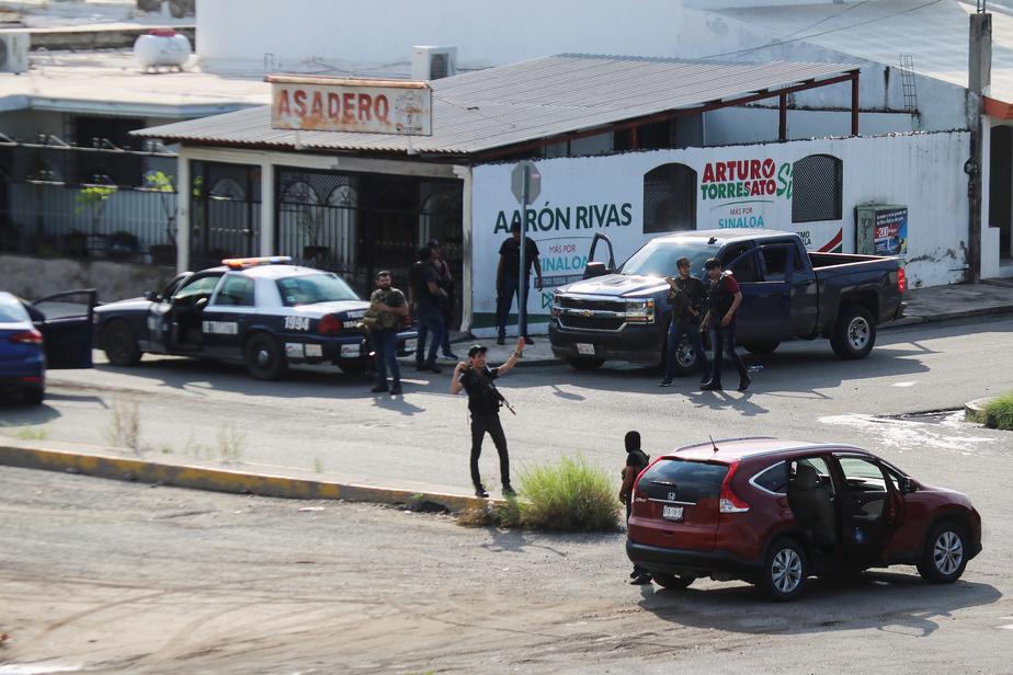 Violents affrontements armés après l'arrestation de son fils — El Chapo