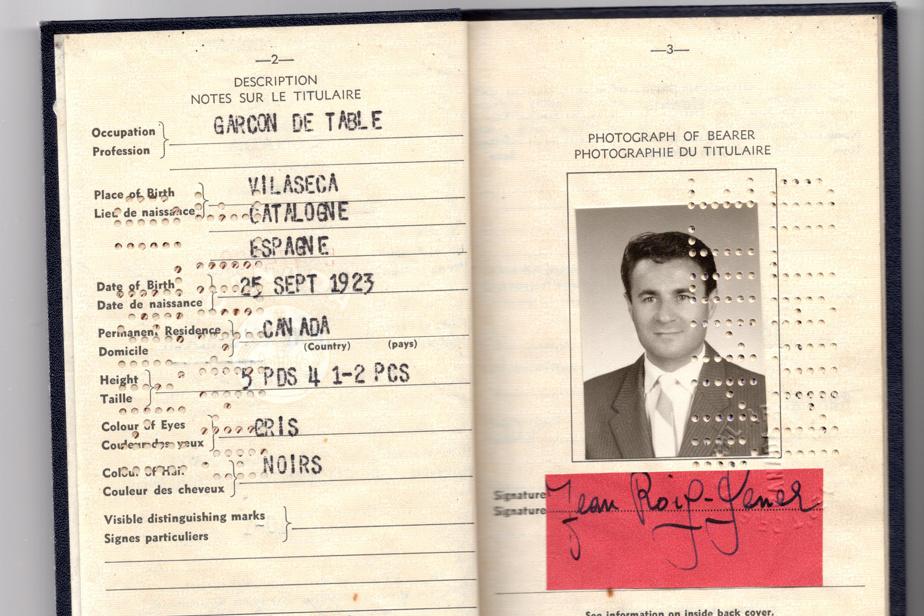 Le passeport de Joan Roig