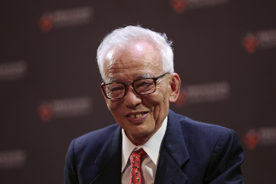 Le physicien japonais Syukuro Manabe