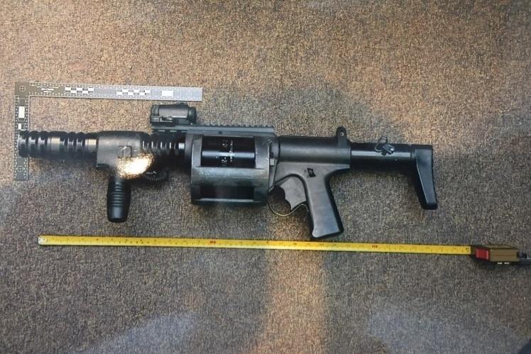 L'arme intermédiaire ARWEN37, utilisée par Christian Gilbert