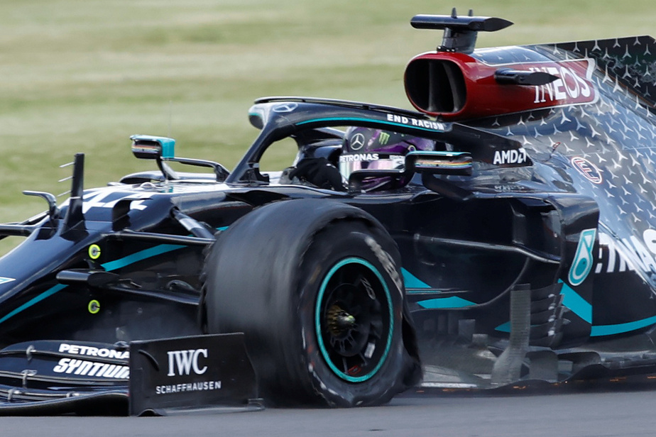 Pour Pirelli, les crevaisons à Silverstone sont liées aux