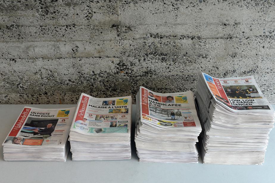 Presse locale, Québec aiderait Capitales Médias