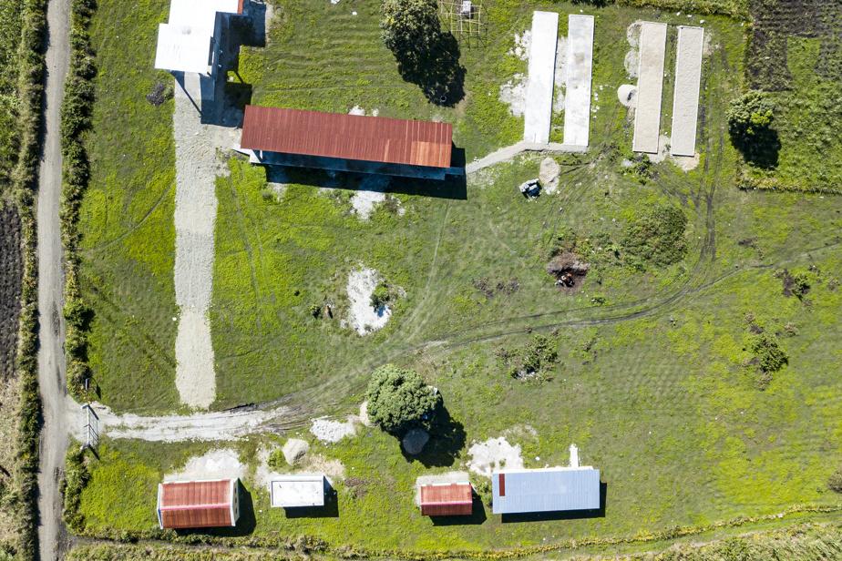 Le centre de tri et de compostage de Dubré, à Milot, mis sur pied dans le cadre du projet KLIMA.