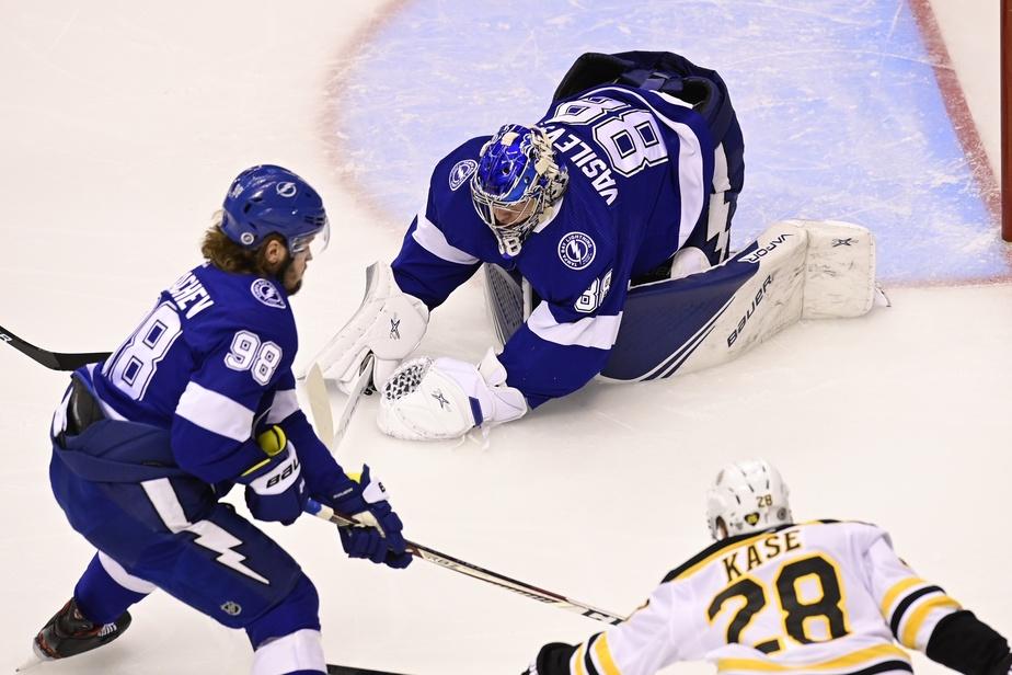 Le Lightning domine les Islanders