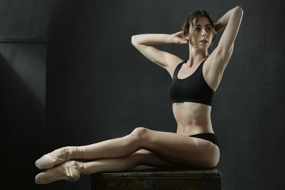 La ballerine Maude Sabourin a lancé une série de vidéos d'entraînement et d'initiation au ballet.