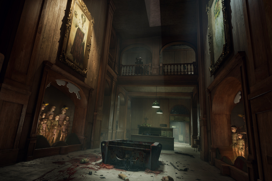 Image tirée d'Outlast Trials, prochain jeu de Red Barrels dont la sortie est prévue en 2021.