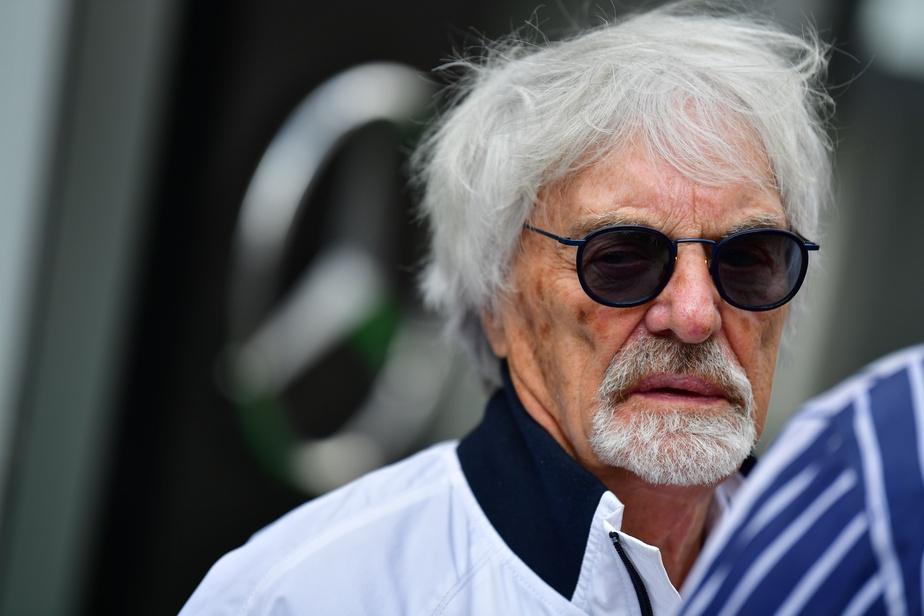 AGENCE FRANCE-PRESSE L'ex-patron de la Formule 1 Bernie Ecclestone