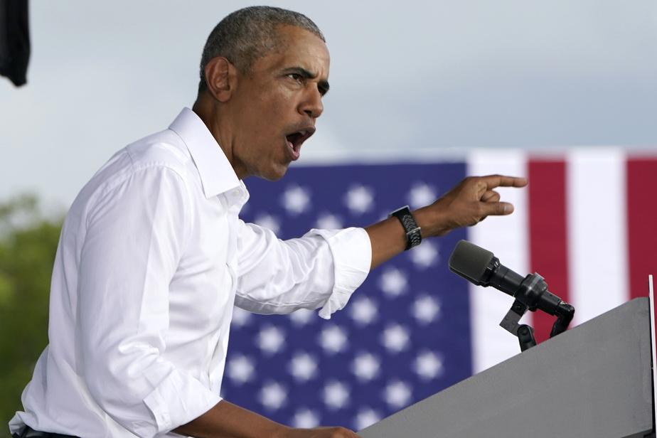 COVID-19 Obama accuse Trump d'avoir «complètement échoué» dans sa gestion)