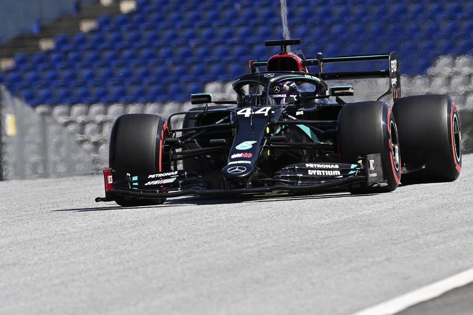 Formule 1 : Hamilton domine la première journée d'essais libres en Autriche