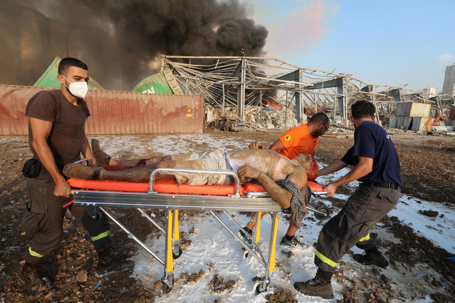 Beyrouth: le bilan s'alourdit à 137morts et 5000blessés)