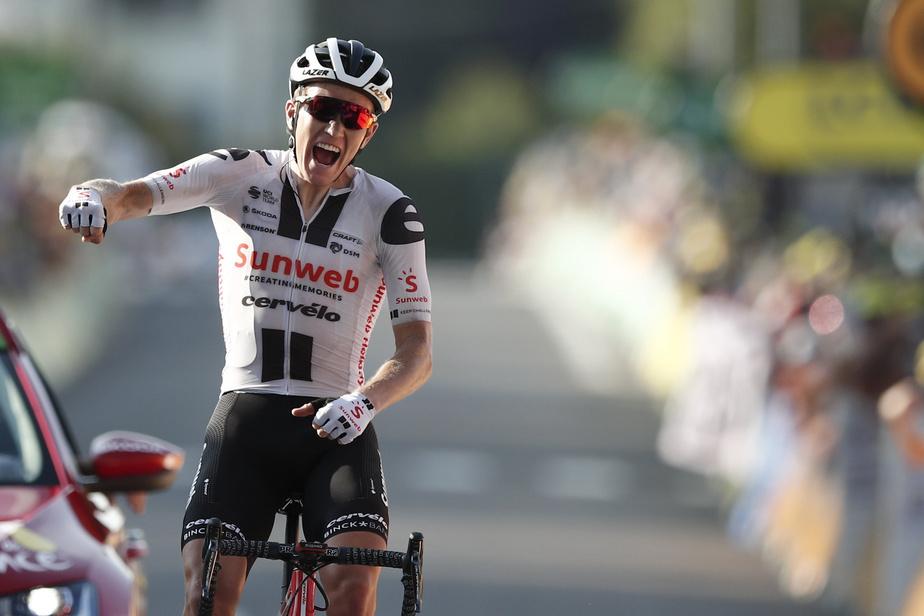 Le Danois Soren Kragh Andersen, qui avait déjà remporté la 14eétape, a doublé la mise et levé les bras en signe de victoire lors de la 19eétape du Tour de France, vendredi, grâce à une nouvelle attaque minutieusement orchestrée.