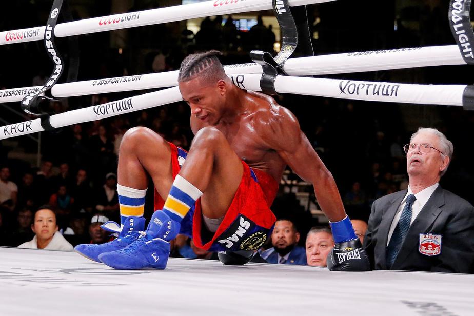 Victime d'un violent K.-O., le boxeur américain Patrick Day est mort