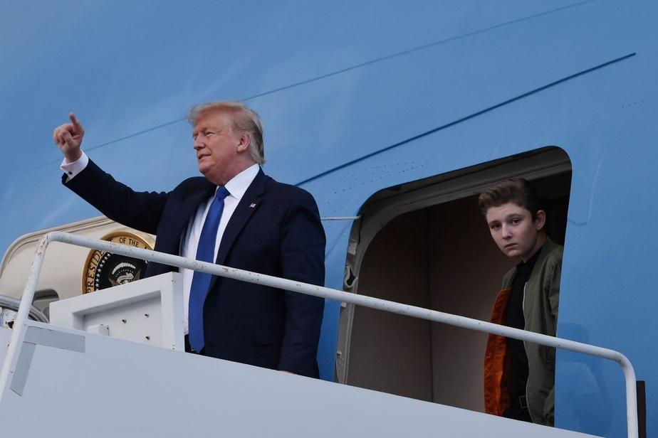Barron, le fils de Donald Trump positif au covid-19 — Etats-Unis