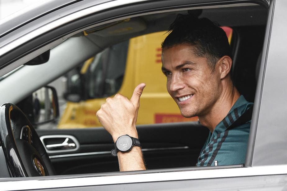 Retour à l'entraînement pour Cristiano Ronaldo — Juventus