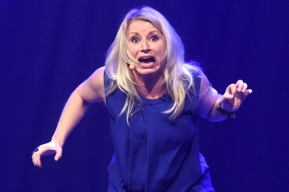 Cathy Gauthier en 2014