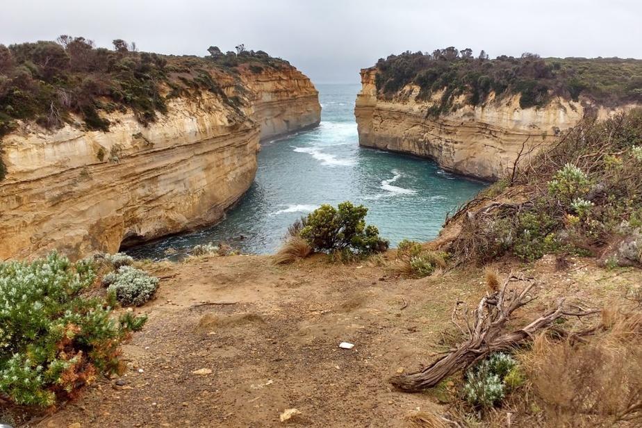 «Dès mon enfance, j'ai commencé à rêver de visiter l'Australie, se souvient Hélène Archambault. Ce n'est qu'en octobre2019 que j'ai finalement pu réaliser ce rêve, accompagnée de mon conjoint. Ce voyage extraordinaire nous a conduits sur le Great Ocean Road et c'est là que nous nous sommes sentis vraiment au bout du monde.» Cette photo a été prise sur cette route, à la Loch Ard Gorge.