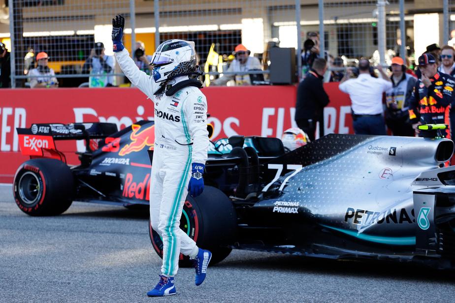 PRESS Le finlandais Valtteri Bottas partira premier demain au Grand Prix des États-Unis