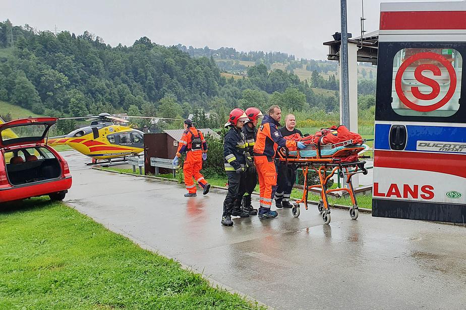 Foudre meurtrière en Pologne, le corps d'un spéléologue retrouvé