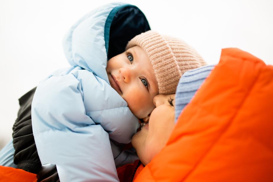 Habit de neige pour bébés, 180$, FOSFO