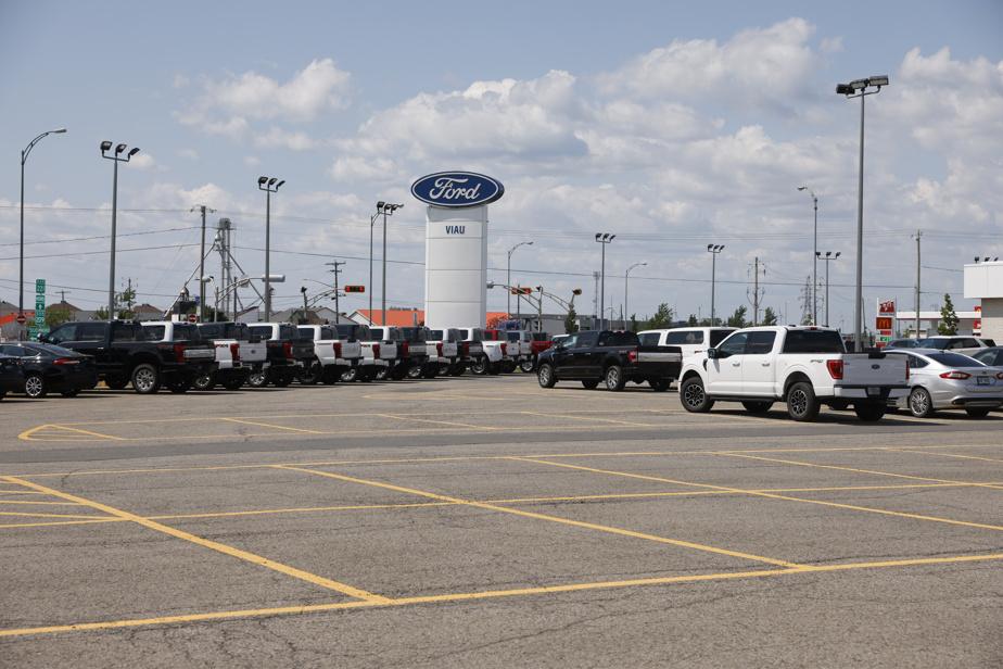 Recul des ventes d'automobiles en septembre au Canada