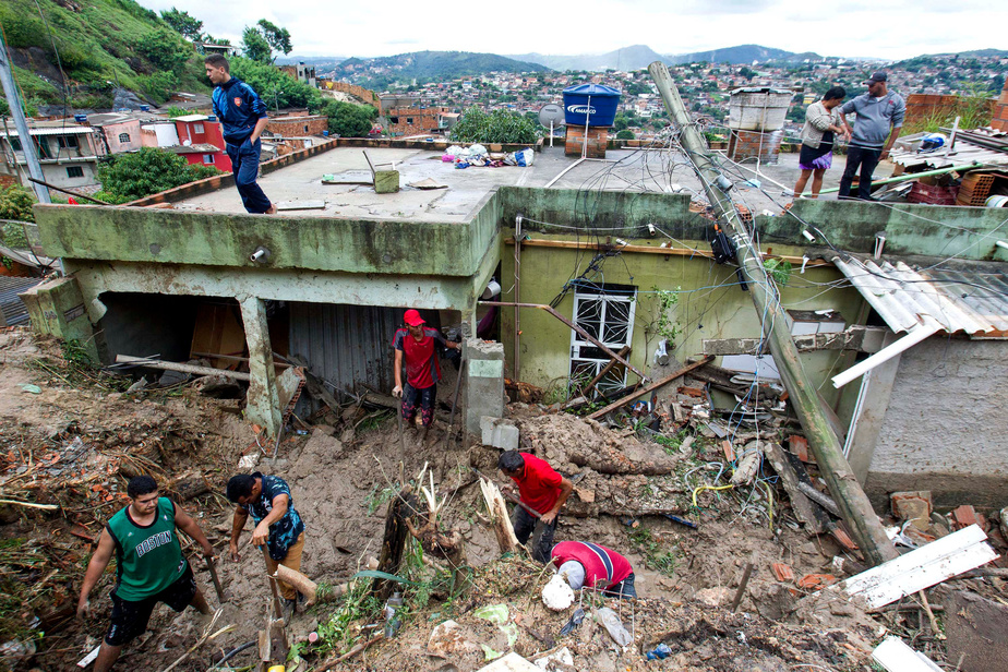 Au moins trente morts, des disparus — Tempête au Brésil