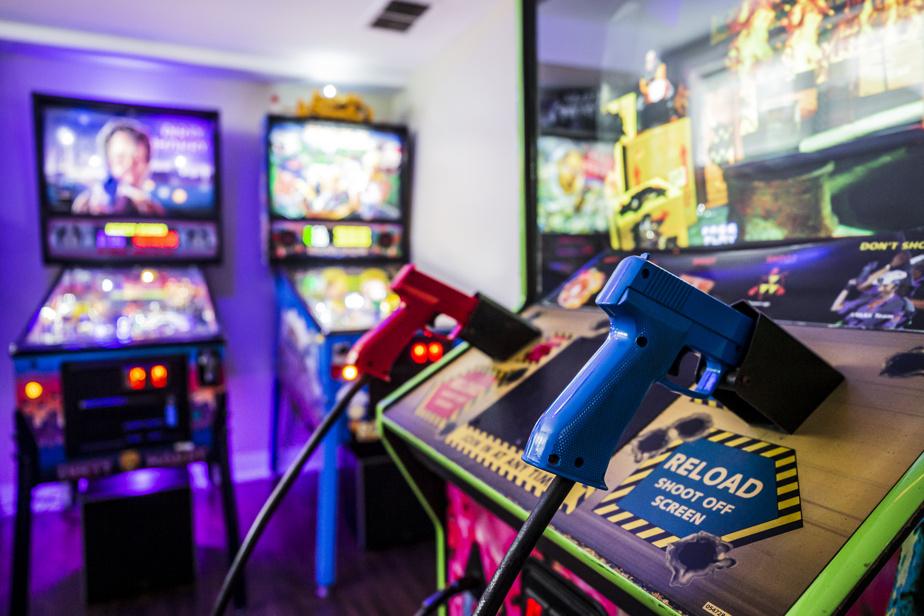 Arcade à la maison Jouer à remonter le passé