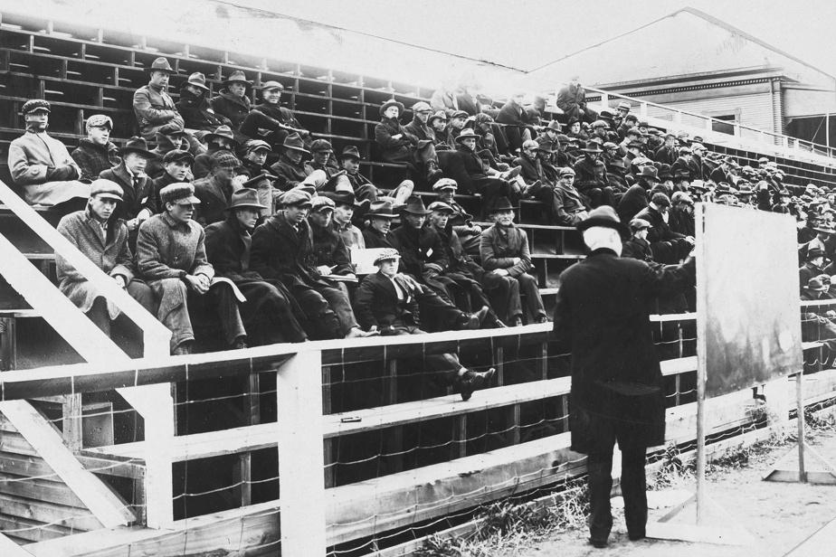 Cours de physique à l'Université du Montana en 1918
