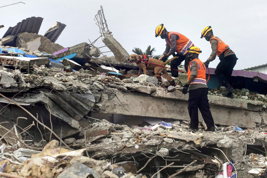 Au moins trois morts, un hôpital effondré après un séisme — Indonésie