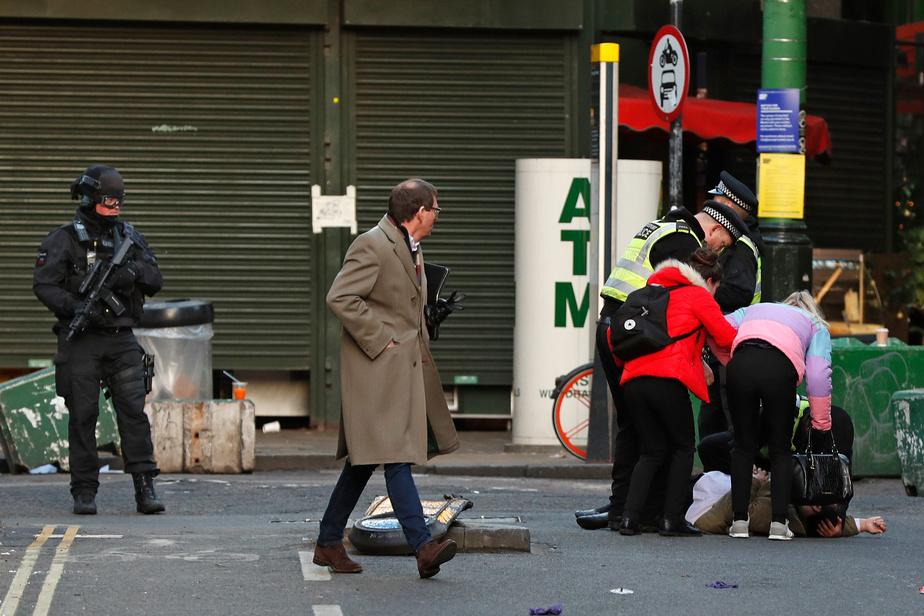Londres: l'assaillant était un ex-prisonnier condamné pour terrorisme