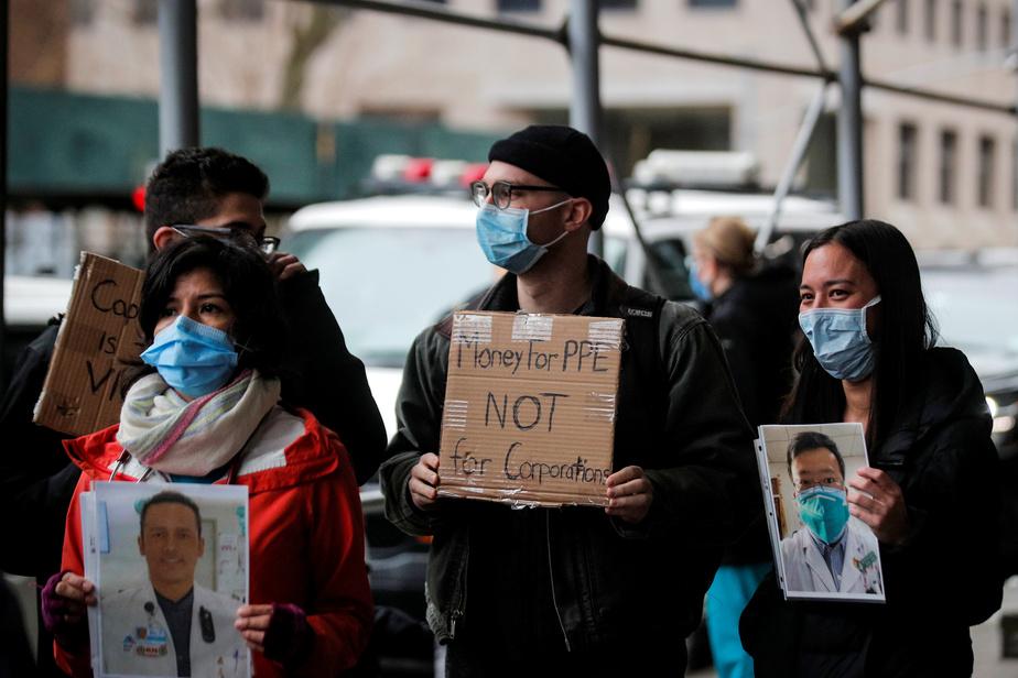 L'État de New York submergé par l'épidémie — Coronavirus