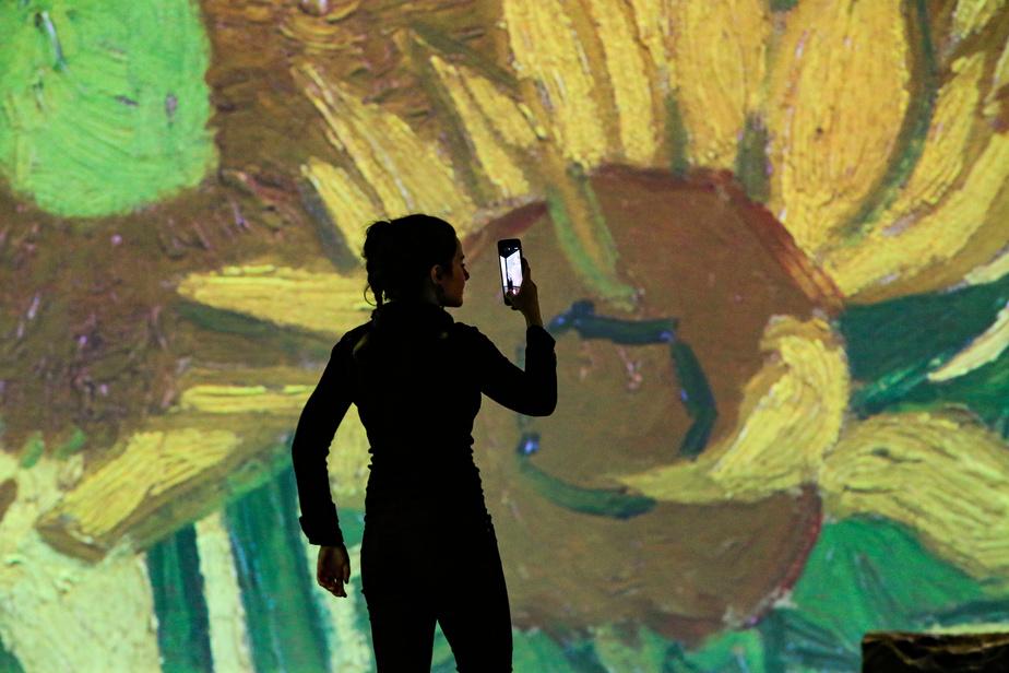 S'immerger dans Van Gogh