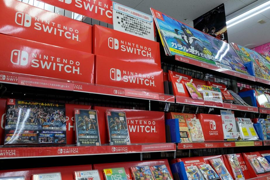 Nintendo sur un petit nuage, les ventes de la Switch explosent