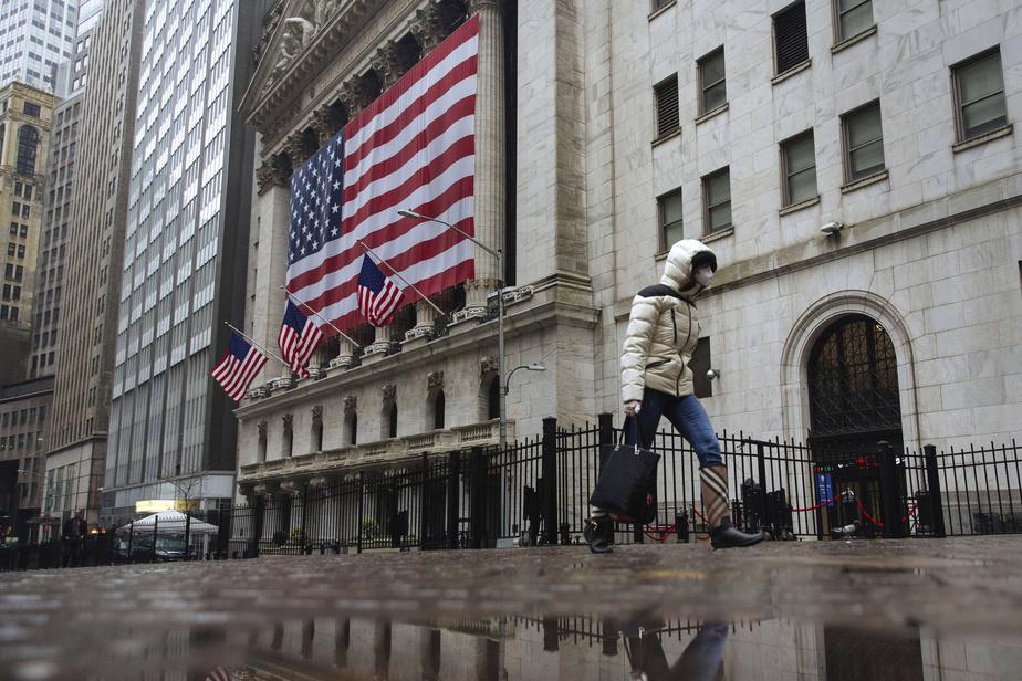 Clôture Wall Street en baisse, les banques dévissent — Wall Street