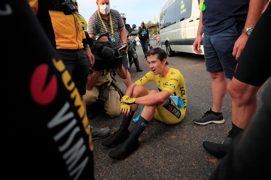 Roglič s'était hissé en tête lors de la neuvième étape et s'était accroché au sommet jusqu'à samedi, la pire journée pour dégringoler.