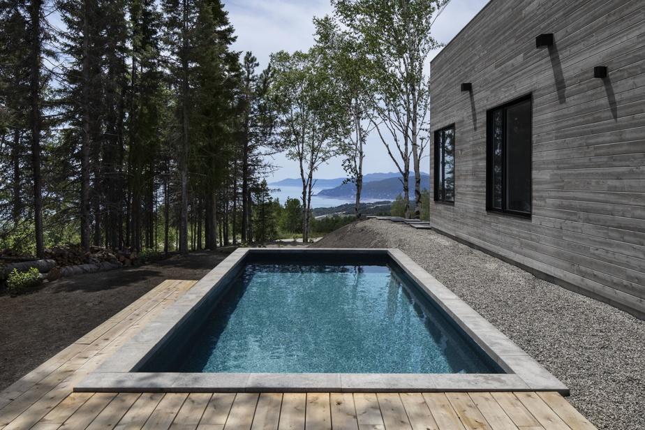 «Pour ma part, je me baigne sans problème dans l'eau du fleuve, mais la piscine comme le spa ou le sauna font partie des luxes que les visiteurs apprécient», observe le propriétaire des lieux.