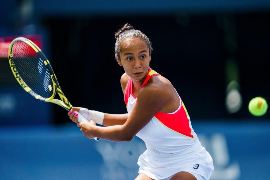 Leylah Annie Fernandez s'incline en demi-finales à Vancouver
